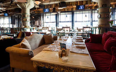 Банкетный зал кафе, ресторана Dandy cafe by Artem Korolev на улице Новый Арбат
