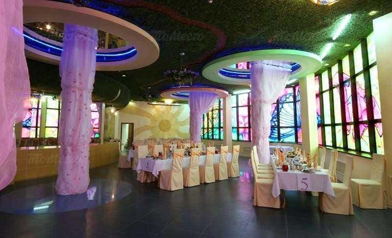 Меню бара, ресторана Зазеркалье на улице Мусы Джалиля