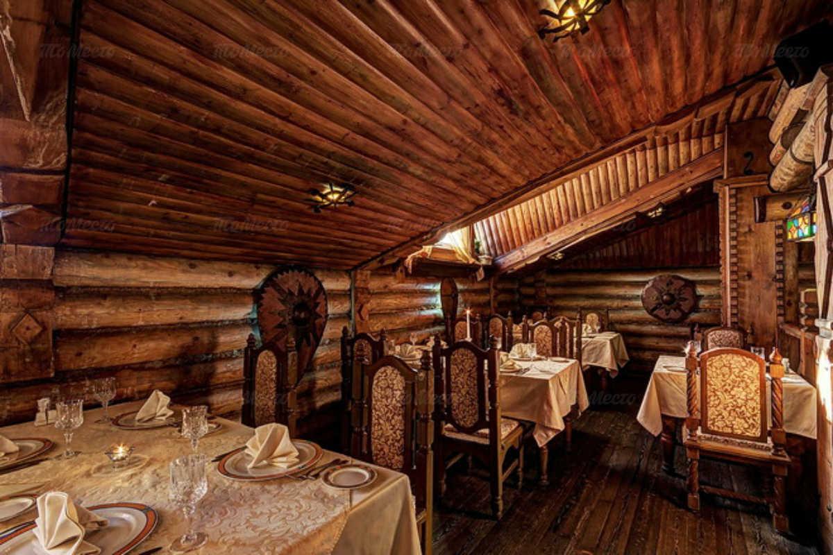 Меню ресторана Ермак на улице Нижние Мневники