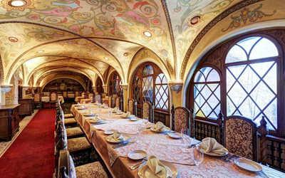 Банкетный зал ресторана Ермак на улице Нижние Мневники
