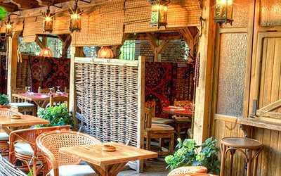 Банкетный зал ресторана Кавказская пленница на проспекте Мира
