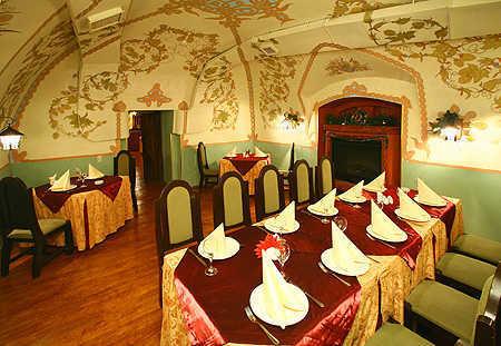 Меню ресторана Князь Голицын на улице имени Баумана городок