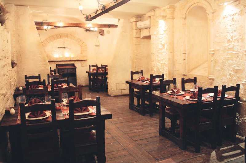 Меню ресторана Китежъ-Град на улице Петровка