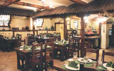 Банкетный зал ресторана Китежъ-Град на улице Петровка