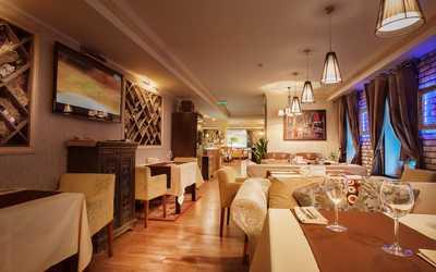 Банкетный зал ресторана Лангуст на Гончарной улице фото 3