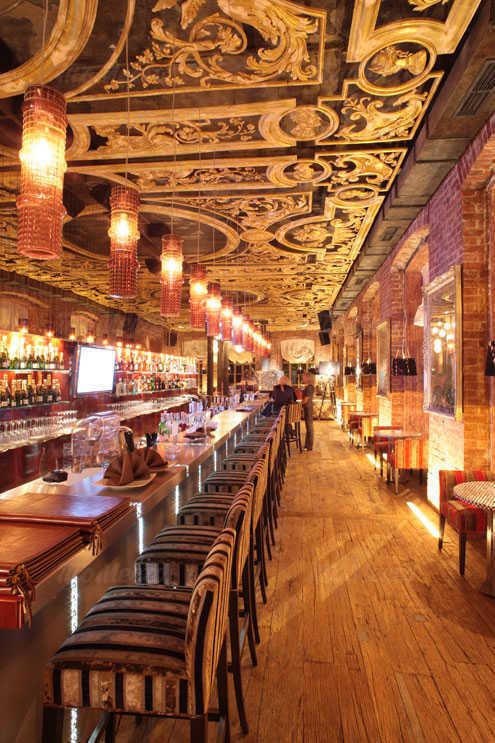 Меню ресторана Манон на улице 1905 года