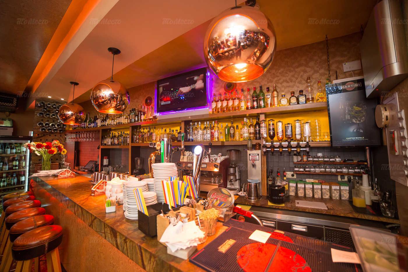 Меню бара, ресторана Огни (Ogni) на Малой Сухаревской площади