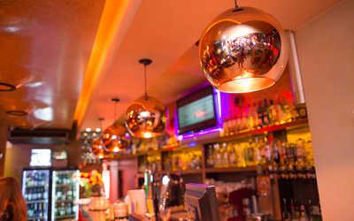 Банкетный зал бара, ресторана Огни (Ogni) на Малой Сухаревской площади