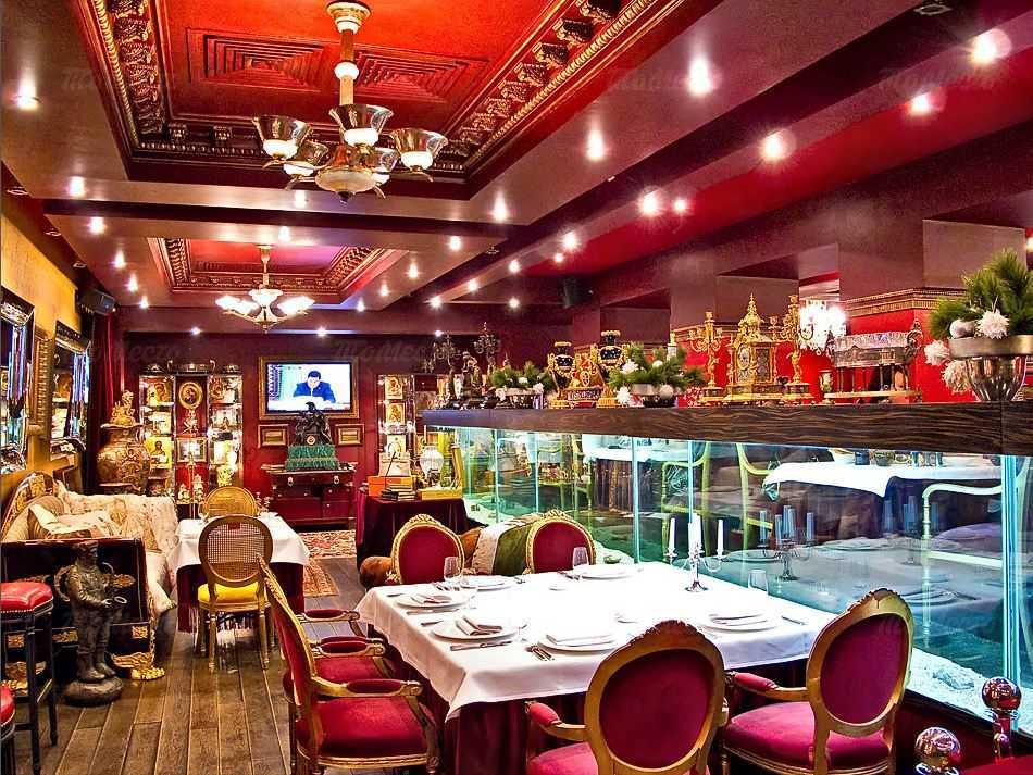 Меню ресторана Рубенс на 2-й Фрунзенской улице