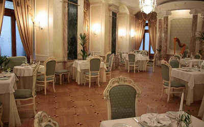 Банкетный зал ресторана Ривьера (Riviere) на Большой Дорогомиловской улице