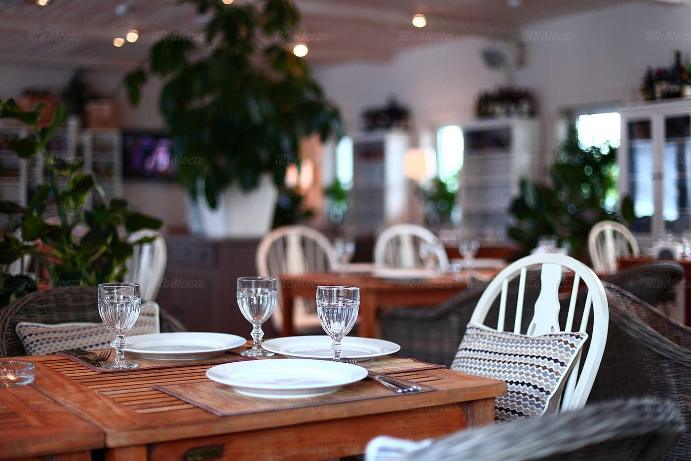 Меню ресторана Причал на 2-м км Ильинского шоссе