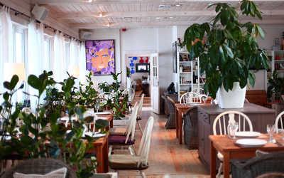 Банкетный зал ресторана Причал на 2-м км Ильинского шоссе