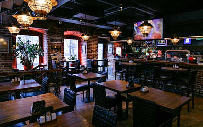 Банкетный зал ресторана Bar BQ Cafe на Пятницкой  фото 2