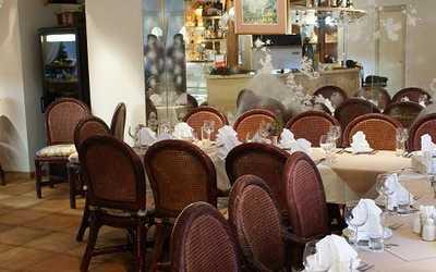 Банкетный зал ресторана Сулико (Suliko) в Ермолаевском переулке