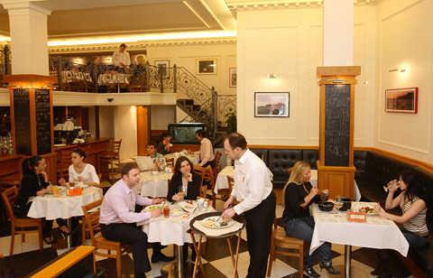 Меню ресторана Филимонова и Янкель на Тверской улице