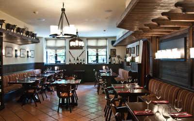 Банкетный зал ресторана Эль Гаучо (El Gaucho) на улице Зацепский Вал