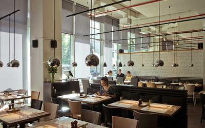 Банкетный зал бара, кафе cafe Ragout на Большой Грузинской улице