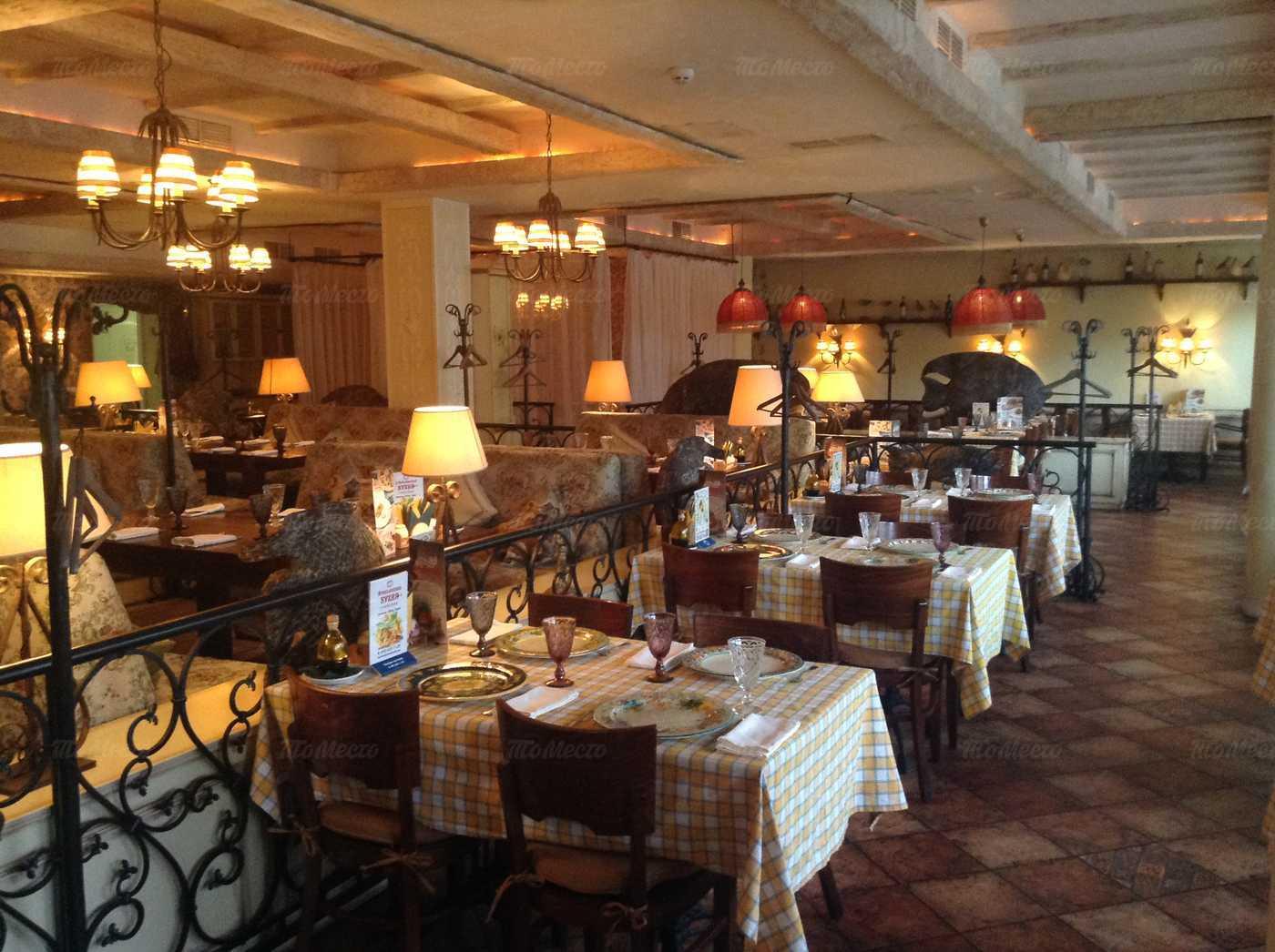 Меню ресторана Бенвенуто (Benvenuto) на Люблинской улице