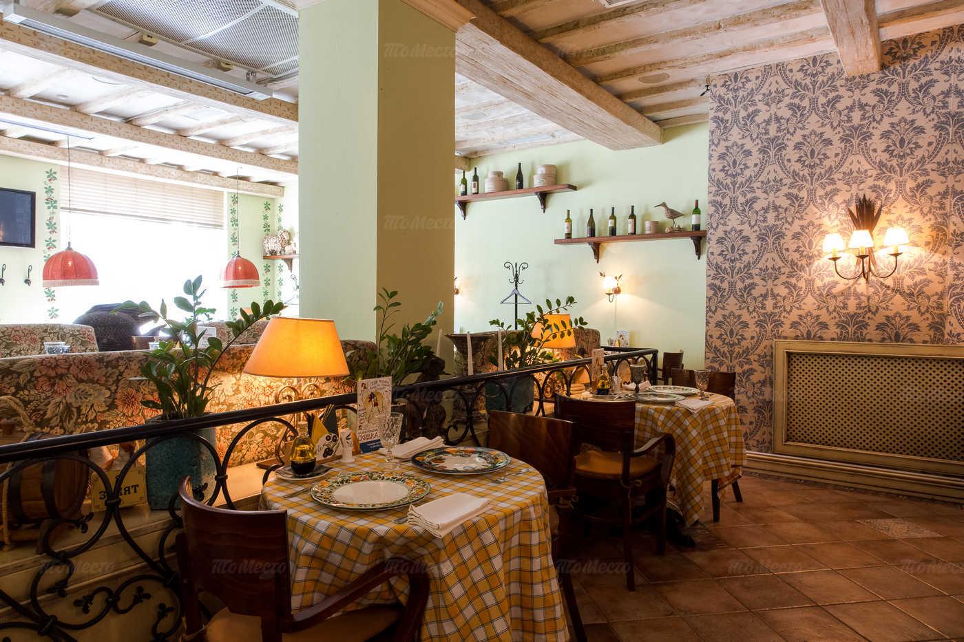 Меню ресторана Бенвенуто (Benvenuto) на Велозаводской улице