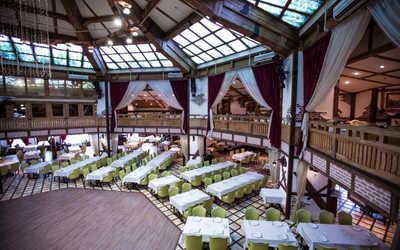 Банкетный зал ресторана Бакинский бульвар на улице Неверовского фото 3