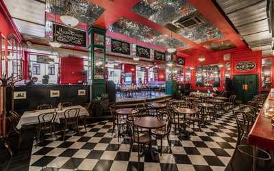 Банкеты кафе Жан-Жак на улице Льва Толстого фото 2