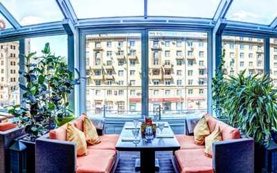 Банкетный зал ресторана Зафферано (Zafferano) на Новинском бульваре фото 1
