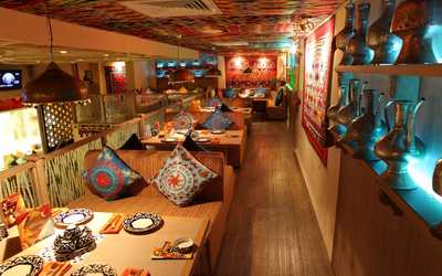 Банкетный зал ресторана Сандык на Веневской улице