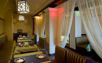 Банкетный зал ресторана Сандык на улице Перерва