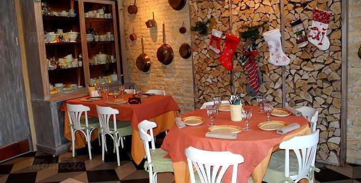 Меню ресторана Ризотти (Risotti) на набережной реки Фонтанки