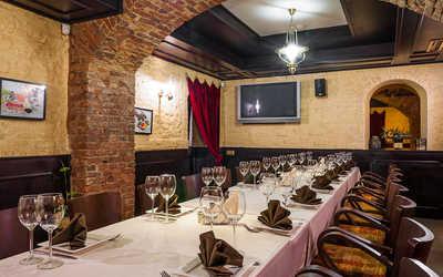 Банкетный зал ресторана Аджабсандал на улице Белинского