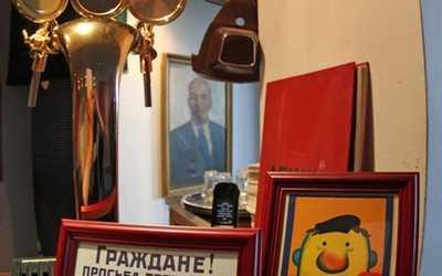 Банкетный зал бара, кафе СССР на Морской набережной