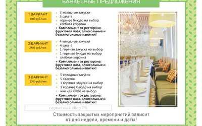 Банкетный зал ресторана Антоновка на проспекте Косыгина фото 1