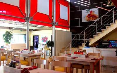 Банкетный зал кафе, ресторана Вапиано (Vapiano) на проспекте Вернадского