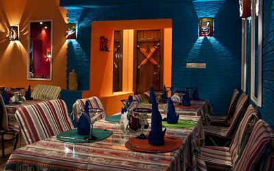 Банкетный зал ресторана Манито (Manito) на Тверской улице