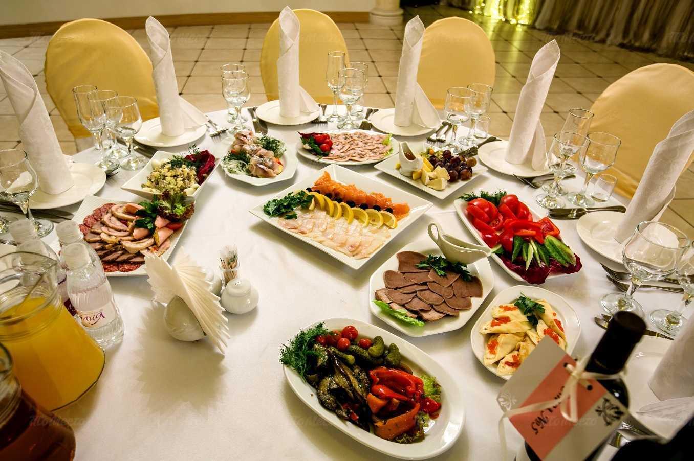 Меню ресторана Юбилей Голд на проспекте Просвещения