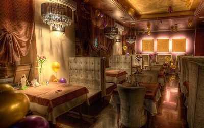 Банкетный зал кафе, ресторана Диван на Большой Татарской улице