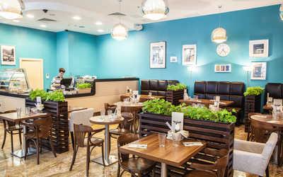 Банкетный зал кафе Кафе 64 (CAFFE 64) на Малоохтинском проспекте фото 1