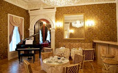 Банкетный зал ресторана Бельэтаж (Bel'etage) на Кожевнической улице