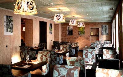 Банкетный зал ресторана Greenberry (Гринберри) на улице Большой Полянка