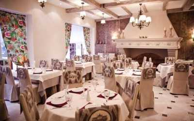 Банкетный зал ресторана Ун Бон (Un Bon) на улице Некрасова