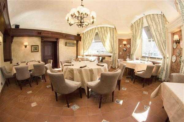 Меню ресторана Траттория Роберто (Trattoria Roberto) на набережной реки Фонтанки