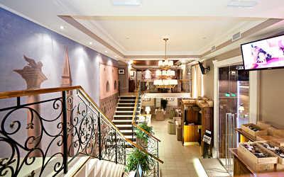 Банкетный зал кафе Де Марко (De Marco) на Садовой-Черногрязской улице