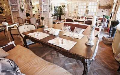 Банкетный зал кафе, ресторана Кафе Прованс (Cafe Provence) на улице Нахимовой фото 1