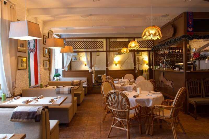 Меню ресторана Моя Италия (La mia Italia) на Московском проспекте