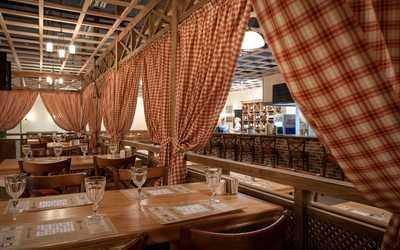 Банкетный зал кафе, ресторана Тоскана на улице Типанова