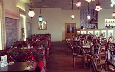 Банкетный зал ресторана Афиет на Петергофском шоссе фото 1