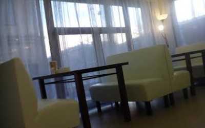 Банкетный зал ресторана Море в Межевом кане.