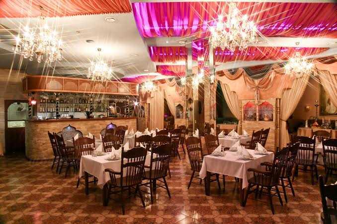 Меню ресторана Магия Востока на проспекте Испытателей