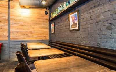 Банкетный зал ресторана География на улице Рубинштейна фото 2