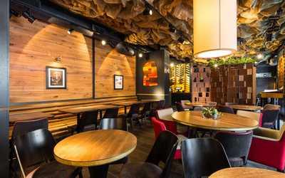 Банкетный зал ресторана География на улице Рубинштейна фото 1